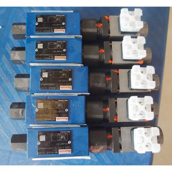REXROTH DBW 20 B2-5X/100-6EG24N9K4 R900922308 Pressure relief valve #2 image